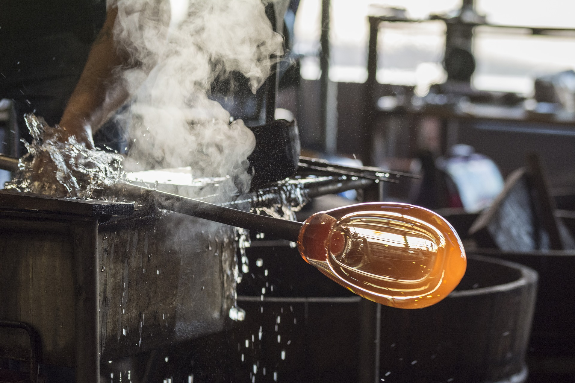 Cape Cod Glass Company Part - 32: Glassblowing Demonstrations
