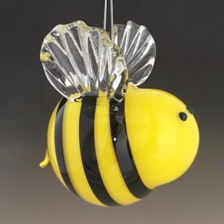 Hanging Ornaments - Help Support The Sandwich Glass Museum and the Glass Artists