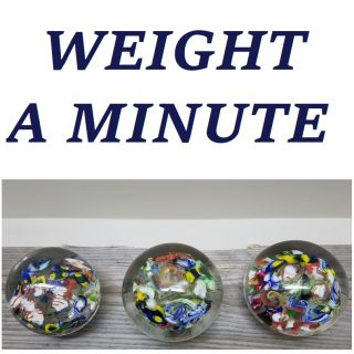 Items from the Weight A Minute virtual exhibit