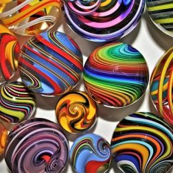 Fritz Glass Marbles